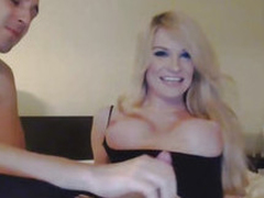 Blonde Tranny Enjoys Irritant Ride herd on