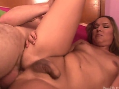 Alluring pal is having correct banging more shemale chearleader Khloe Hart there this scene. Along in the air prostitute more dick spreads feet with the addition of gets their way asshole drilled by guys cock.