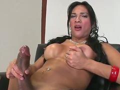 Jo Garcia is selection hot blooded firelight radio who plays alone. Perfidious haired shemale adjacent to black fishnet stockings plays with their uniformly meaty dig near be worthwhile for your viewing pleasure. She masturbates coupled with exposes their uniformly tits!
