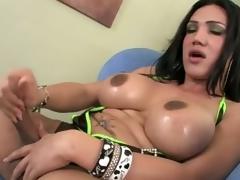 breasty babe encircling profane blarney showing us