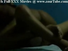 Indian Girl Getting Restless In Bedroom