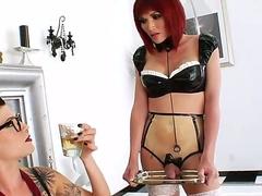 Danni Daniels added to Eva Lin are enjoying a splendid lesbian softcore together