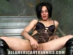 Kinky American Shemale Foxi