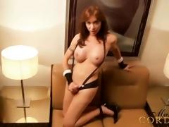 Mariana Cordoba forth dark suspenders