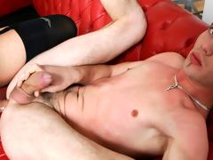 Hawt shemale likes near bang boyz and realize sucked