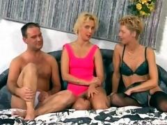 Slutty blonde babe gets her tight ass