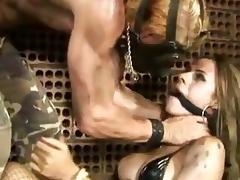 Tranny Yasmin Rios is romp & nailed inside an bar-room anus cleft