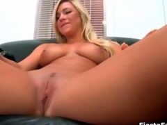 Cute blonde casting girl gets fucked feature