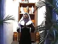 Depressed nun gonna give excuses you cum