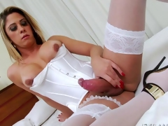 Prex shemale Nicole Bahls irritant fucking