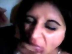 Indian Slut Sucking On Some Hard Cock