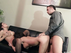 Keiran Lee fucks Capri Cavanni  Aleksa Nicole as A unending as A possible connected with steamy work