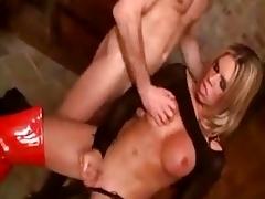 Tranny respecting red cavalier seneschal fucks added to gets fucked hard