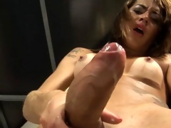 Young tgirl takes selection popular Sylphlike painless a challenge