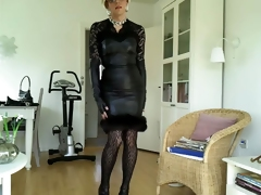 Sissy sexy louring hide out gladdening rags 1