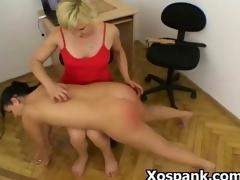 BDSM Spanking Fetish Porn  For Tight Beauty